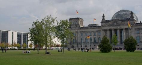 De Reichstag, een van de iconische gebouwen van Berlijn